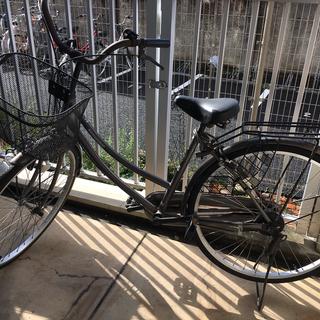 【あげます】自転車とスタンド(2台分)