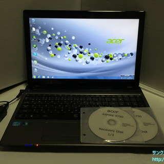 ノートパソコン Acer AS5750-H54E/K No.1