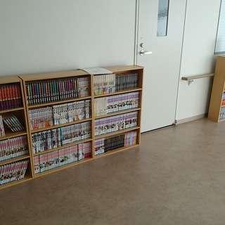 病院漫画図書館オープン