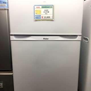 期間限定販売 HAIER JR-N91J 冷蔵庫2015年製☆5キ...