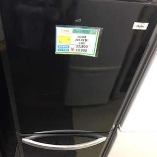 期間限定販売 HAIER  JR-NF140E 冷蔵庫2013年製...