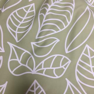 北欧柄の遮光カーテン