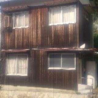 25000円宇和島市高串、2階建て一軒家、けっこう大きな畑つき