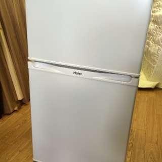 2015年 ハイアール 91L 冷凍冷蔵庫 売ります