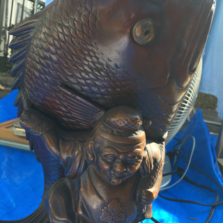 鯛の置き物