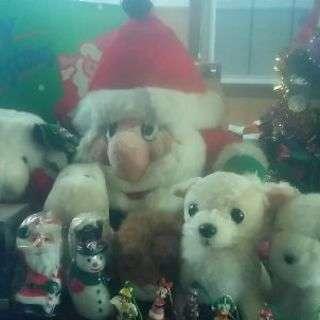 クリスマスツリー&ぬいぐるみセット