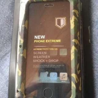 アイフォーン6用防水ケース  防塵防水 対衝撃ケース 迷彩