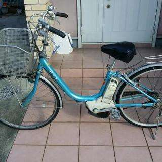 交渉中ヤマハPAS電動自転車