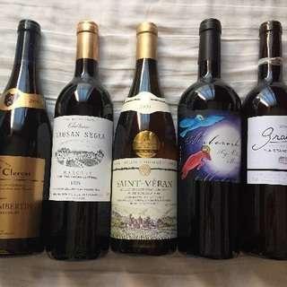 ワイン 5本セット