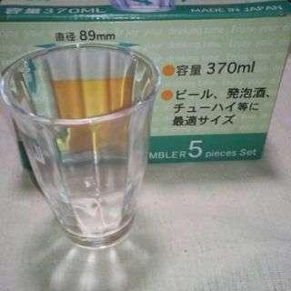 【セール】 未使用 グラス 5個入り