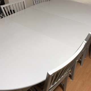 6脚 セット 北欧風 テーブルセット