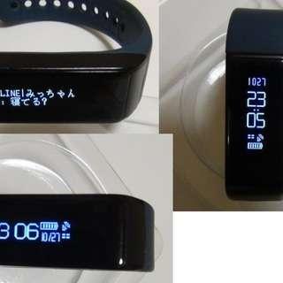 I5 Plus LINE着信機能 FitBit類似品です WEB図...