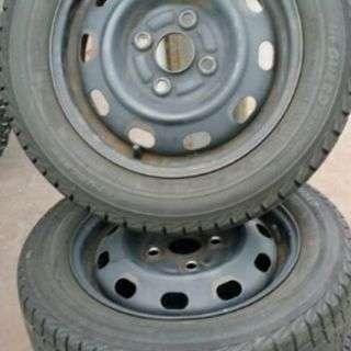 スタッドレスタイヤ 155/65-13 PCD100 4穴