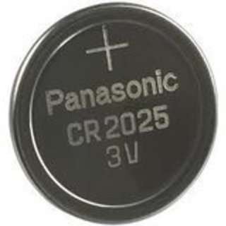 Panasonicコイン形 リチウム電池 CR2025  送料無料
