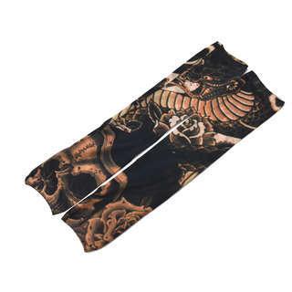 【新品】タトゥースリーブ S 洋彫り×コブラ