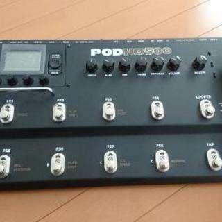 ギター エフェクター LINE6 POD HD500
