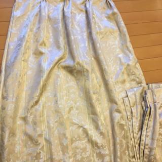 中古美品 カーテン 100×145