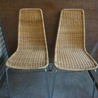 IKEA 椅子 2脚
