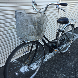 自転車 ママチャリ 26インチ ( marukin RAINY )