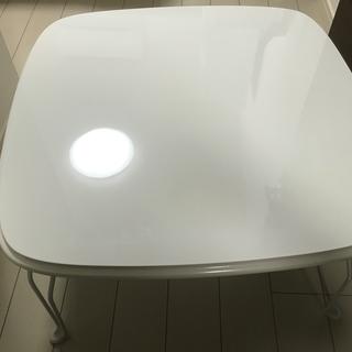 白いローテーブルあげます!(今日明日限定)