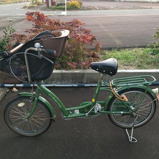 20インチ自転車 チャイルドシート付き 引取り規模