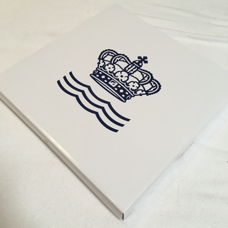【新品】ロイヤルコペンハーゲン-お皿(ピンク)19㎝