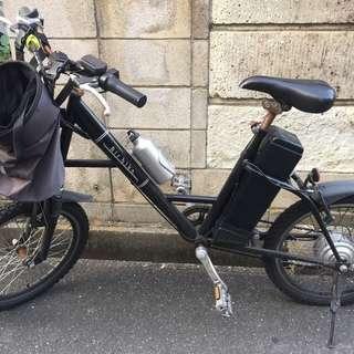 電動アシスト風?自転車