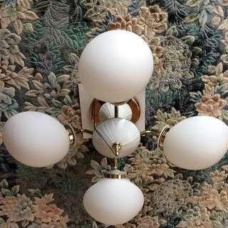 4灯シャンデリア