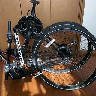 ドッペルギャンガー26インチ21段クロスバイク(折りたたみ式)未使用