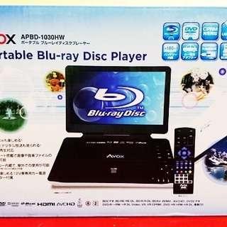 交渉成立:【Avox】10インチ/ポータブルブルーレイディスクプレ...