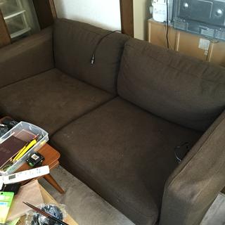 大きめ2人掛けソファ
