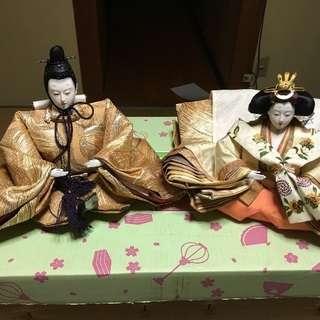 七段飾りの雛人形