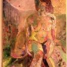 油絵 F40号 裸婦