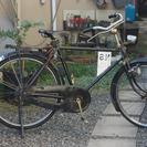 レトロで頑丈! 鉄チャリ!雑貨屋さんにあるようなオシャレな自転車。