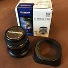 未使用品・OLYMPUS単焦点レンズ・45mm f1.8・プロテク...