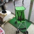 AG17. ベビーカー 緑色