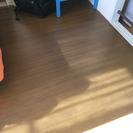 木製フローリングカーペット