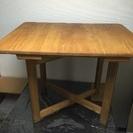 【取引中】折りたたみ机  ダイニング テーブル