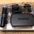 マイク SHURE ワイヤレスシステム