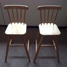 イケア 子供用 椅子 二脚セットで 完全無料