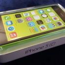 新品未使用■docomo iPhone5C 32GB グリーン