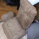 頭部ギア式肘付き回転座椅子 ラクニ(BR) *交渉中*