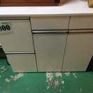 【激安】キッチンボード ホワイト