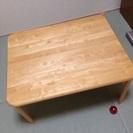 ニトリ 木製 折りたたみローテーブル