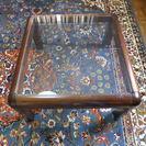ガラス 座卓テーブル