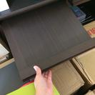 木製ディスプレイ本棚 ダークブラウン