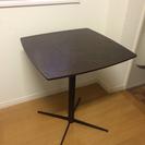 カフェ風コーヒーテーブル 60×60×72