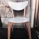 売却済・値下げ!🉐美品✨北欧デザイン・チェア・木製・ホワイト