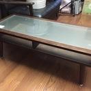 テーブル ガラス ローテーブル
