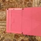 iPad mini 2or3フラップカバー2アングルタイプ ピンク